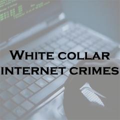 white collar internet crimes